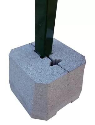 Plot Beton Pour Poteaux De Cloture Grillagee Castorama