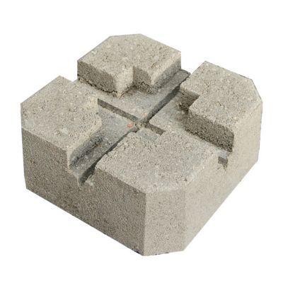 plot beton pour terrasse blooma h 10 cm