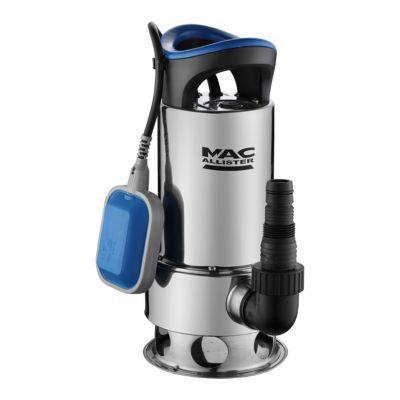 Pompe Vide Cave Eau Chargee Mac Allister 900w Inox Castorama