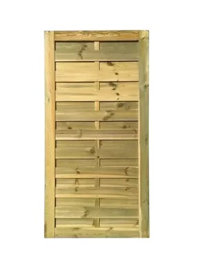 porte bois blooma douro verte 90 x h 180 cm