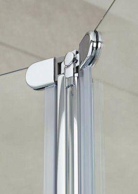 porte de douche pliante cooke lewis onega transparent 80 cm