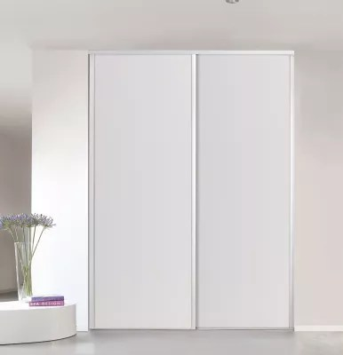 Porte De Placard Coulissante Blanche Form Valla 77 X 246 Cm Castorama