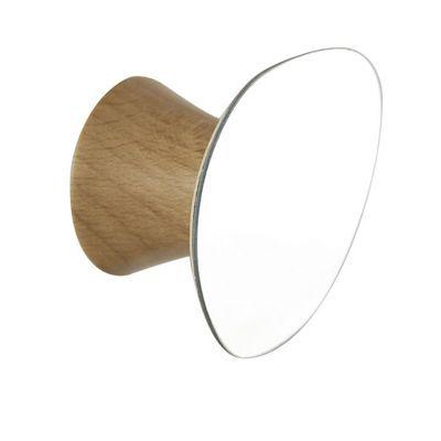 porte manteau a fixer miroir form benares 1 tete