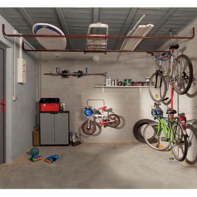 porte tout de garage en acier b017p