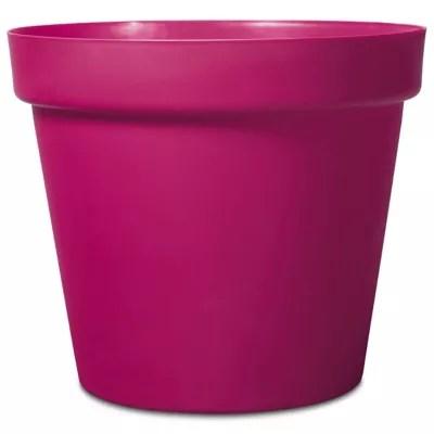 pot rond plastique blooma nurgul rose o70 x h 59 cm