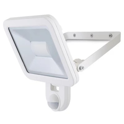 Projecteur A Detection Led Blooma Weyburn Blanc 30 W Ip44 Castorama