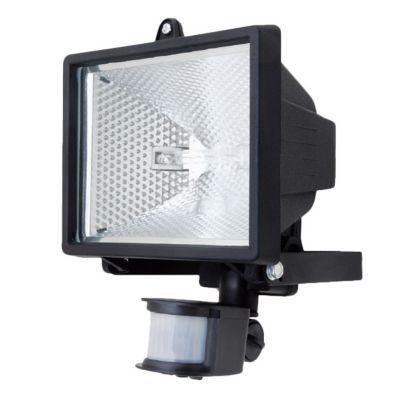 Projecteur Exterieur A Detection Scotti Noir 400w Castorama