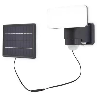 Projecteur Solaire Led Blooma Kenora Noir 10 W Ip44 Castorama