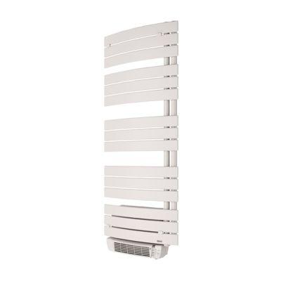 radiateur seche serviettes electrique soufflant de longhi madeira blanc 1700w