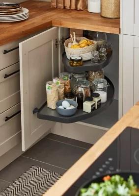 rangement coulissant d angle pour meuble de cuisine goodhome pebre 100 cm gauche