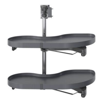 rangement coulissant d angle pour meuble de cuisine goodhome pebre 80 cm gauche