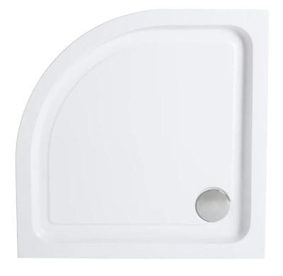 receveur d angle a poser acrylique blanc cooke lewis 80 x 80 cm