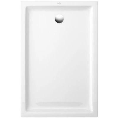 receveur a poser ceramique blanc villeroy boch collection design 120 x 80 cm