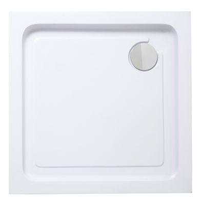 receveur a poser carre blanc cooke lewis lagan 70 x 70 cm