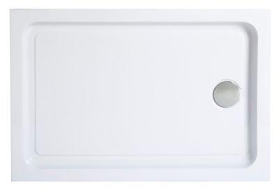 Receveur A Poser Rectangulaire Blanc Cooke Lewis Lagan 80 X 120 Cm Castorama