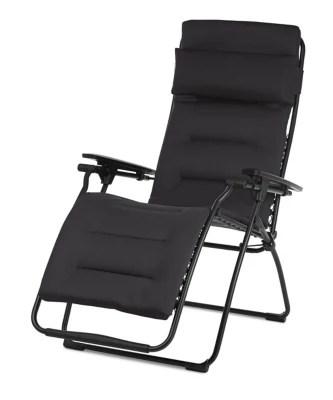 Relax Metal Et Toile Lafuma Futura Air Comfort Acier Castorama