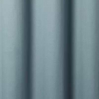rideau goodhome taowa gris bleu 140 x 260 cm