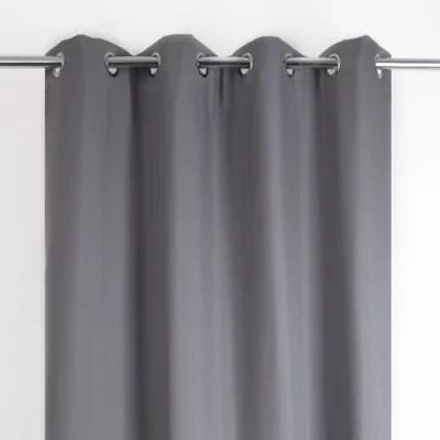 rideau thermique stop cold gris fonce 135 x 240 cm