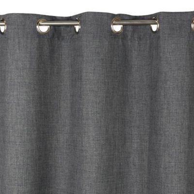 rideau valencia gris 140 x 300 cm