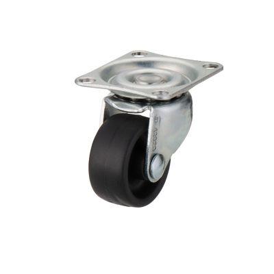 roulette pivotante a platine pivotante o25 mm charge max 10 kg