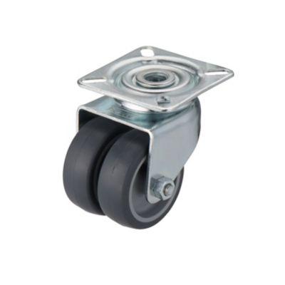 roulette pivotante a platine pivotante o50 mm charge max 45 kg