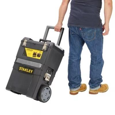 Servante Sur Trolley Stanley Plastique Castorama