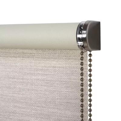 store enrouleur occultant colours ilas polyester creme 160 x 240 cm