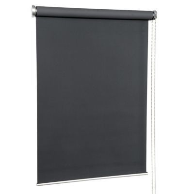 store enrouleur occultant polyester gris beton must 80 x 190 cm