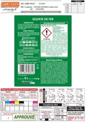 Sulfate De Fer Liquide 5l Castorama