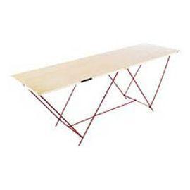table a tapisser pin massif 198 x 58 8 x 2 cm