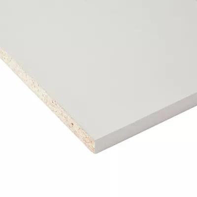 tablette melamine blanc 40 x 250 cm ep 1 8 cm