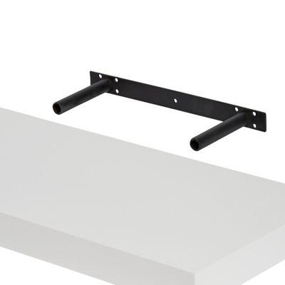 tablette murale avec fixation invisible form cusko blanc brillant 118 cm