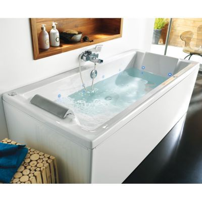 tablier de baignoire allibert clips 180 cm