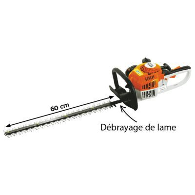 taille haies thermique stihl hs 45 600