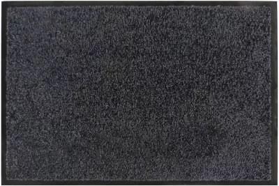 tapis absorbant polyamide noir prisma 90 x 130 cm