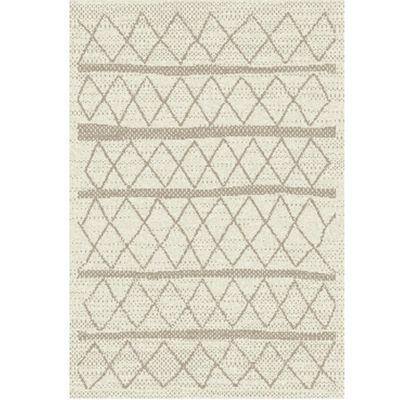 tapis berbere beige taupe 60 x 110 cm