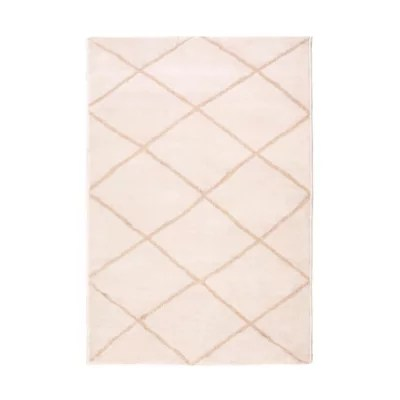 tapis casablanca or motif rectangle 100x150cm