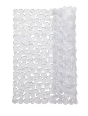 tapis de bain antiderapant transparent 55 x 55 cm batumi