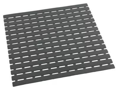 tapis de douche antiderapant arinos gris 54 x 54 cm