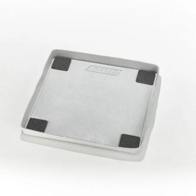 tapis de retention d eau et anti vibration pour machine a laver a chargement frontal 62 x 62 x 5 cm