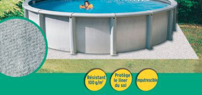 tapis de sol pour piscine diall o5 m