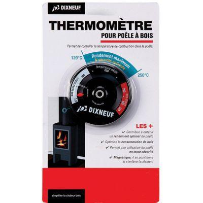 thermometre magnetique pour poele et cheminee