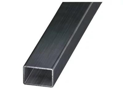 tube rectangulaire acier verni 40 x 27 mm 1 m
