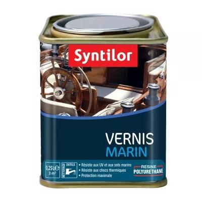 vernis marin bois interieur exterieur syntilor incolore mat 0 25l