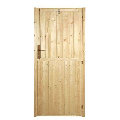 volet exterieur de porte pour abri de jardin bois luoman new vaasa