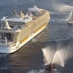 Larger cruise ships can tender