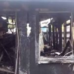 Three homes burned in GT arson attack
