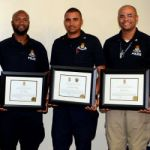 Cops commended for saving lives