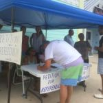 Referendum petition collects 800 signatures