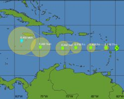 Tropical Storm Isaac, Cayman News Service